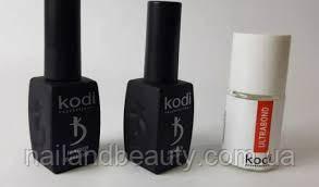 Rubber Base Kodi 12 ml + Rubber Top Kodi 12 ml + Ultrabond Kodi 15 ml \ База Топ Бонд Коді