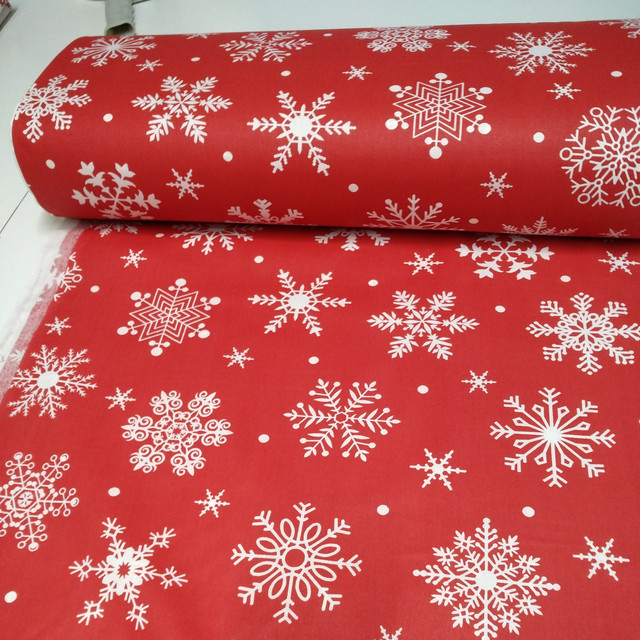 ткань ранфорс, ранфорс для постельного, белья, снежинки