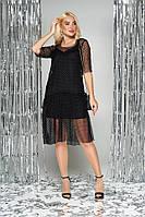 Платье-комбинация женское нарядное L-289, фото 1