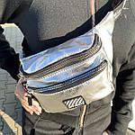 Женская поясная сумка Off White, бананка, сумка через плечо, фото 3