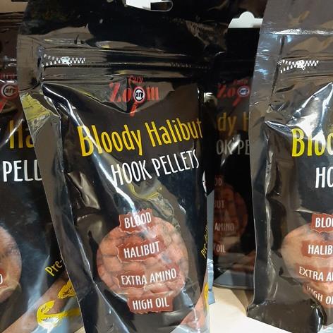 Пеллетс насадочный Bloody Halibut Hook Pellets 150g 20мм