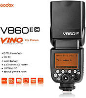 Вспышка Godox V860II-C для Canon, фото 1