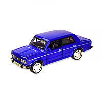 Машинка ВАЗ 2106 синяя из серии Автопром