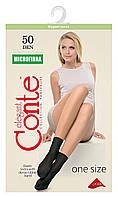 Носки женские Conte Microfibra 50 Den 8С-10СП, р.23-25, mocca, 1 пара, конверт