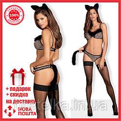 Ролевой костюм Кошка Obsessive CHEETIA SET, Польша