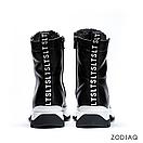 Ботинки женские зимние кожаные на шнурках b 8977-2s, фото 3