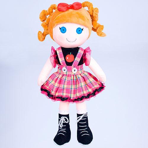 Мягкая плюшевая Кукла в сарафане 45 см Копица 00416-5