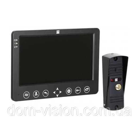 Комплект Видеодомофон и вызывная панель DOM D7B распродажа витрин