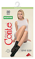 Носки женские Conte Microfibra 50 Den 8С-10СП, р.23-25, shade, 1 пара, конверт