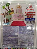 Мастика для тортов  универсальная (КРАСНАЯ)   Ovalette