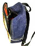 Джинсовый рюкзак Виноградов, фото 2