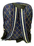 Джинсовый рюкзак Виноградов, фото 3