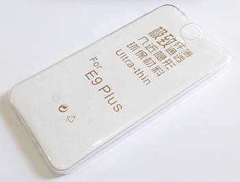 Чехол для HTC One E9+ силиконовый ультратонкий прозрачный