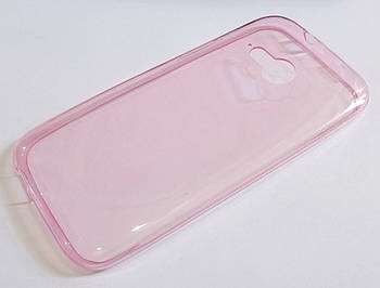 Чехол силиконовый ультратонкий для HTC One mini 2 (M8 mini) розовый