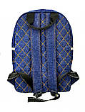 Джинсовый рюкзак МАРГАНЕЦ, фото 4