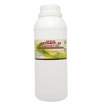 Биопрепарат Инсекто-аккарицид Актофит, 900 мл, Укрзооветпромпостач. Препараты для защиты растений