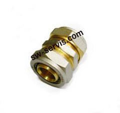 Муфта для металлопластиковых труб 16 соединительная