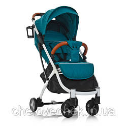 Детская прогулочная коляска El Camino Yoga II M 3910-12 turquoise