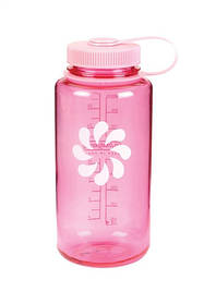 Пляшка для води Nalgene Wide Mounth Розова 1 л.