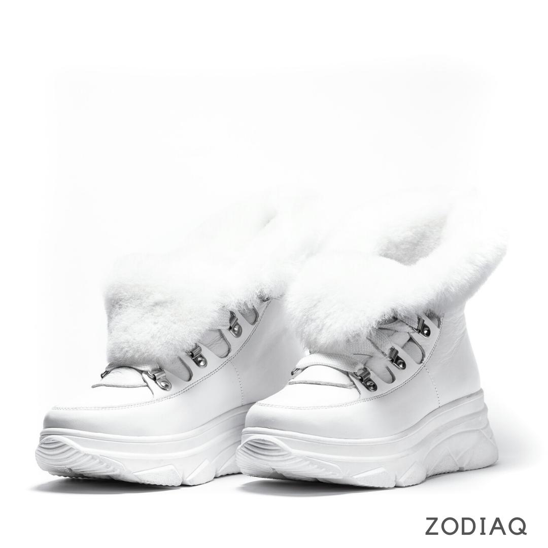 Ботинки женские зимние кожаные натуральный мех b 9258 - 00s