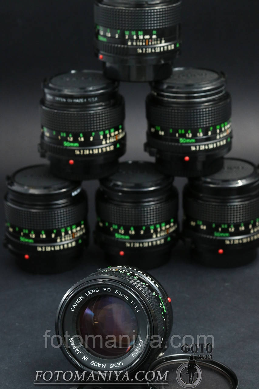 Canon nFD 50mm f1.4