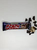 Вафли Crazy с какао кремом в молочном шоколаде и хрустящим рисом 30г