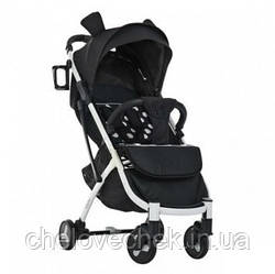 Детская прогулочная коляска El Camino Yoga II M 3910-2 black&white