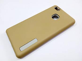Чехол противоударный Dual Pro для Huawei P9 Lite поликарбонат золотой