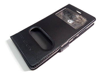 Чехол книжка с окошками momax для Huawei Y3 II / Y3-2 / Y3 2 черный