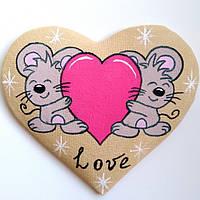 Кавові мишки любов. Магніт.