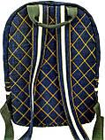 Джинсовый рюкзак  Supreme, фото 7