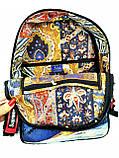 Джинсовый рюкзак  Supreme, фото 4