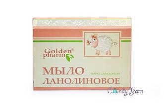 Мыло Ланолиновое GoldenPharm, 70гр