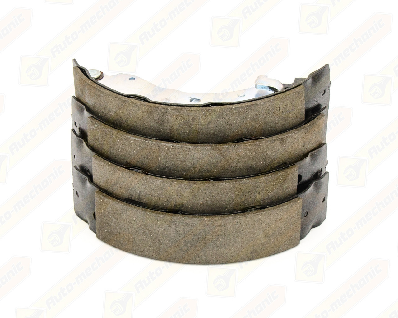Купить Тормозные колодки, Барабанные тормозные колодки (задние) на Renault Clio II 1998->2005 — TRW - GS8455