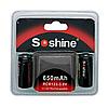 Акумулятори Soshine RCR123 (16340) 650mAh - 3v (2шт.)
