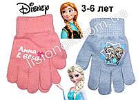 Демисезонные перчатки Холодное Сердце (Frozen) от Disney 3-6 лет, фото 1