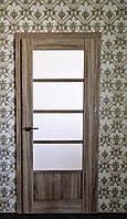 Двери EcoDoors BERGAMO 5 в декоре Дуб ретро, фото 1