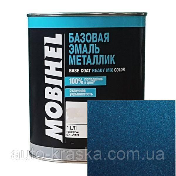 Автокраска Mobihel металлик 50343 синяя.0.1л