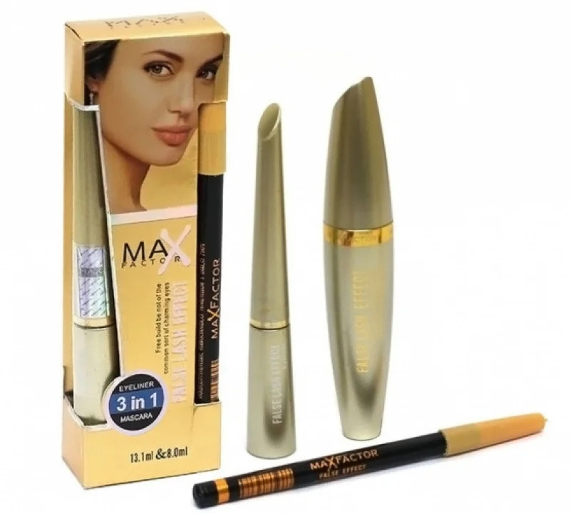 Набор MAX FACTOR False Lash Effect 3 в 1: тушь + подводка + карандаш