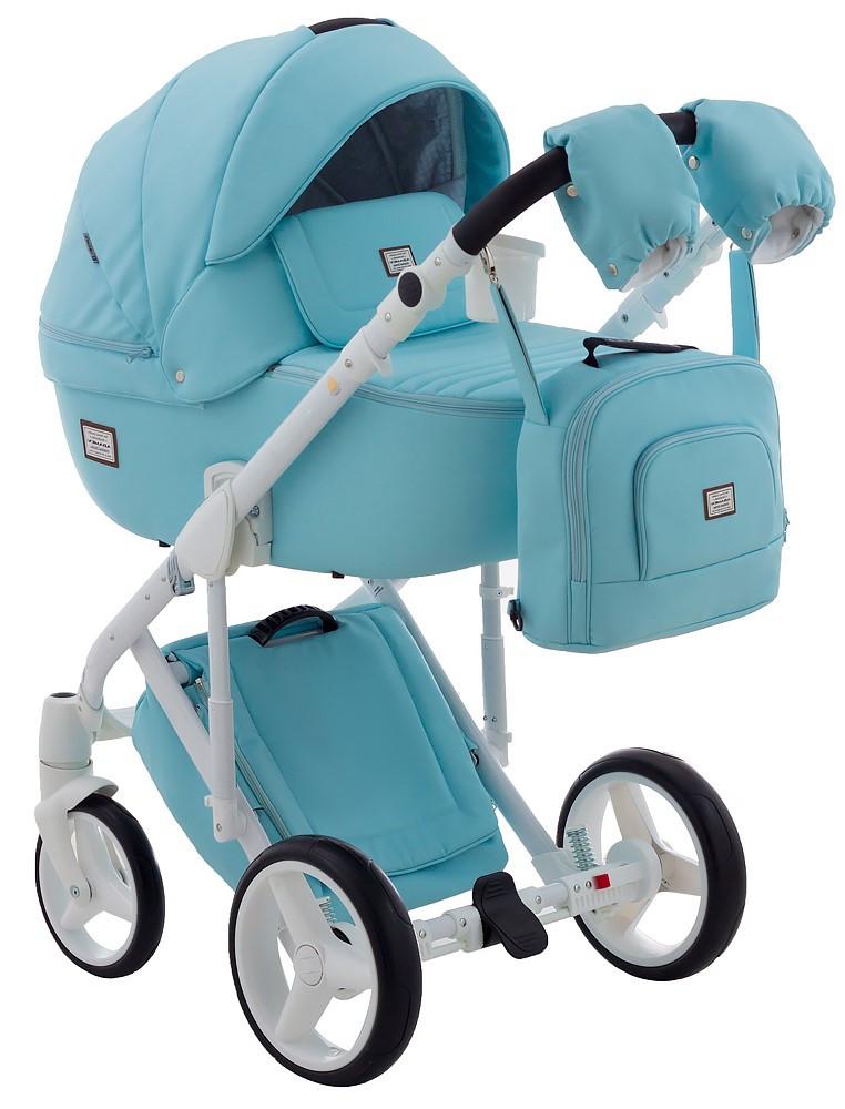 Детская универсальная коляска 2 в 1 Adamex Luciano Q112