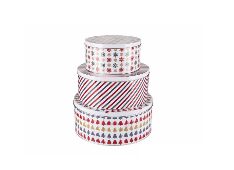 Набор коробок для торта/сладостей Ernesto 3 шт