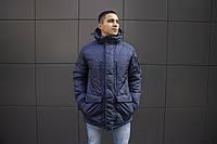 Мужская зимняя куртка Kraft Tactical Navy Blue L