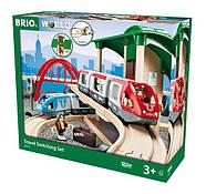 BRIO World НАБОР Двухуровневый с вокзалом 33512, фото 10