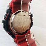 Мужские спортивные наручные часы Casio G-Shock (реплика) красные, фото 5