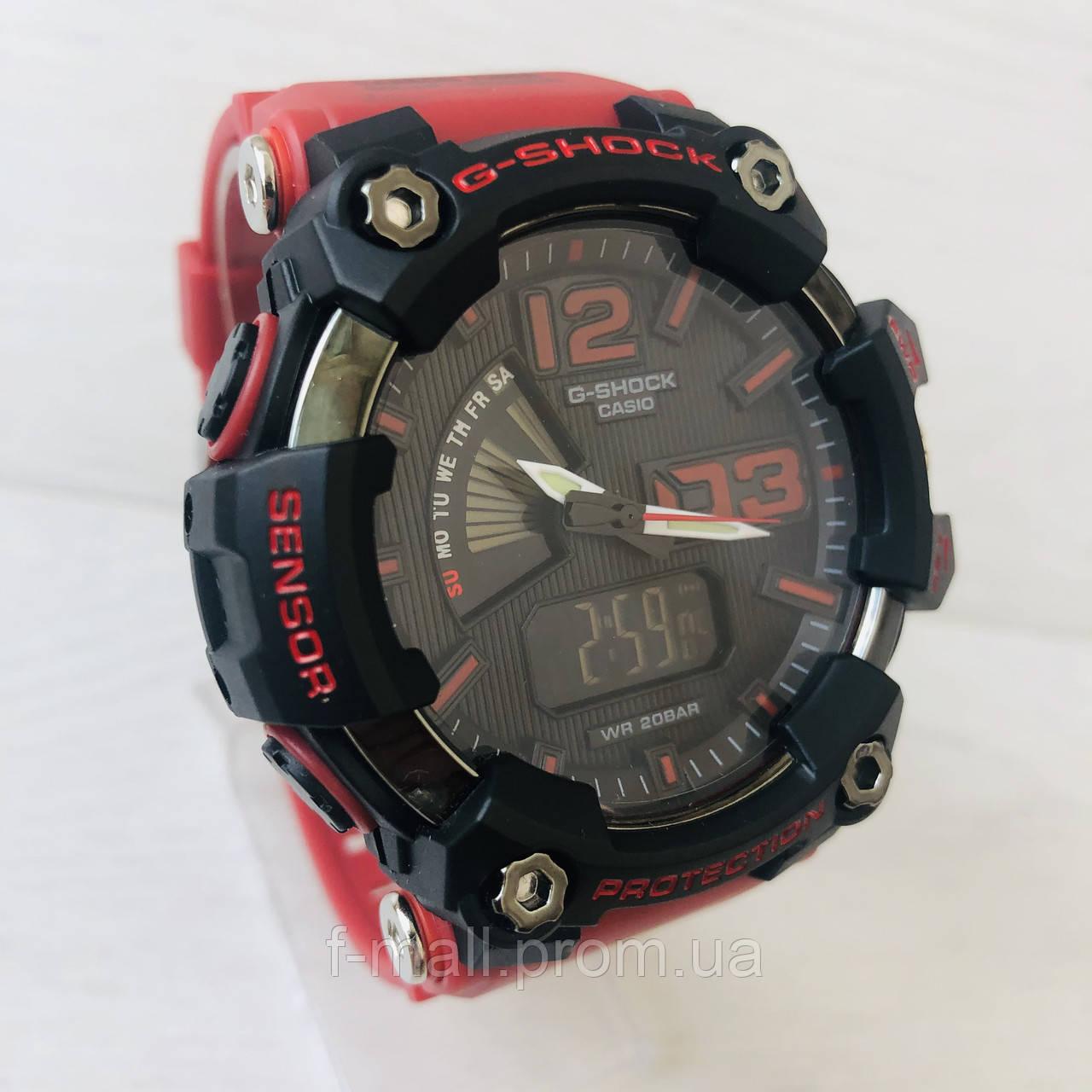 Мужские спортивные наручные часы Casio G-Shock (реплика) красные