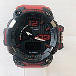 Мужские спортивные наручные часы Casio G-Shock (реплика) красные, фото 2