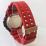 Мужские спортивные наручные часы Casio G-Shock (реплика) красные, фото 6