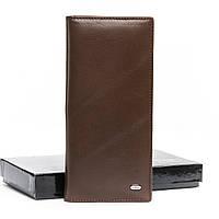 Женский кожаный кошелек Dr. Bond (MSM-6 коричневый)