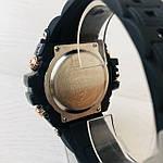 Мужские спортивные наручные часы Casio G-Shock (реплика) черный ремешок золотой циферблат, фото 6