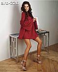 """Жіноча сукня """"Малина""""  від Стильномодно, фото 3"""